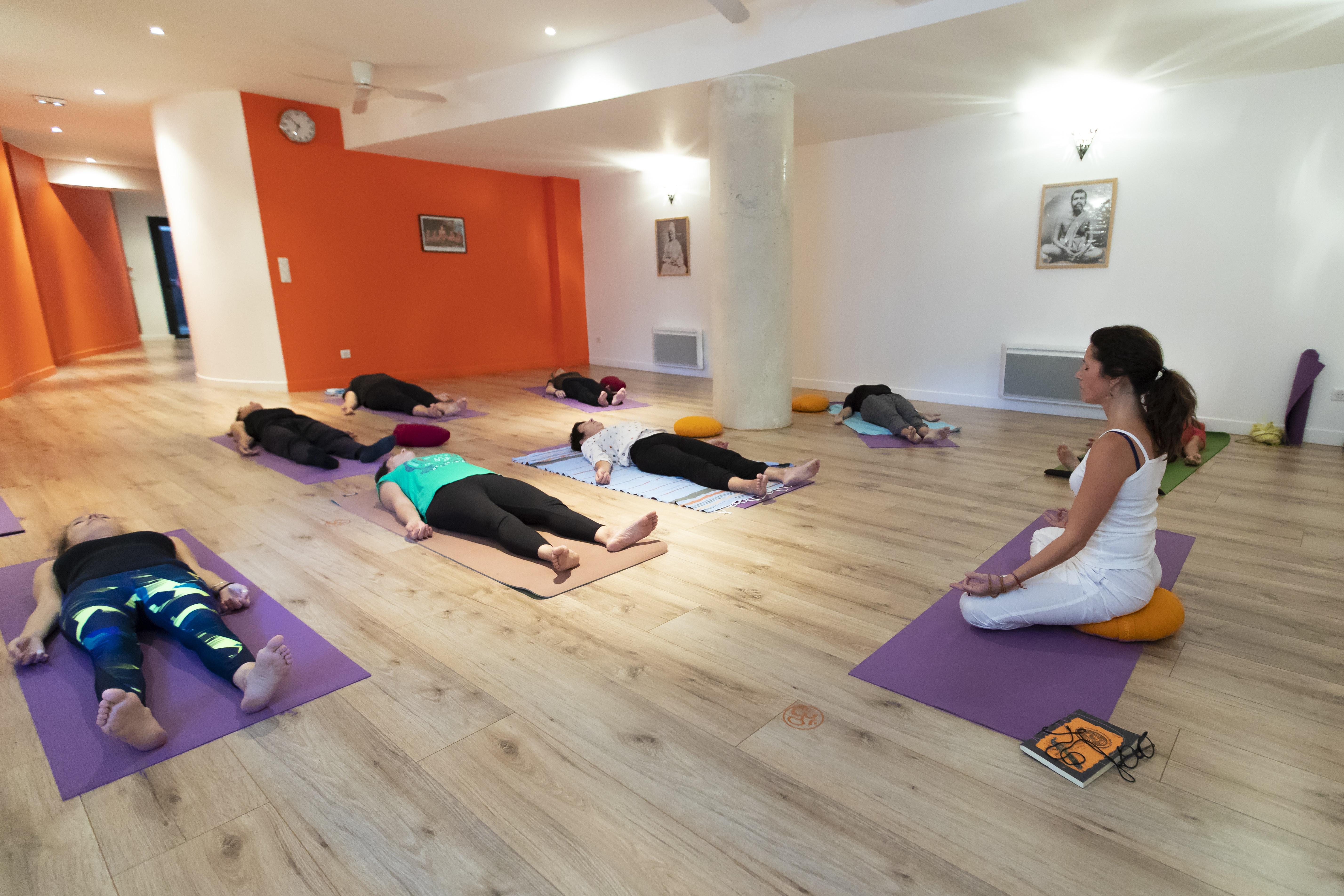 yoga nidra ou relaxation profonde