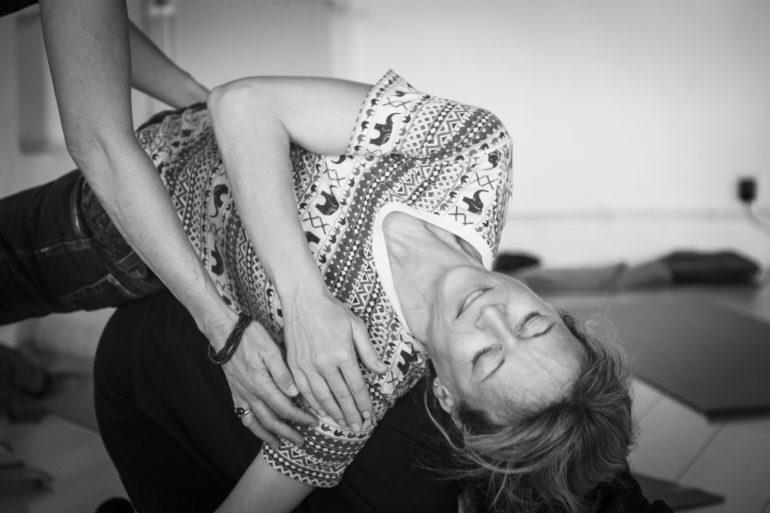 posture de hatha yoga